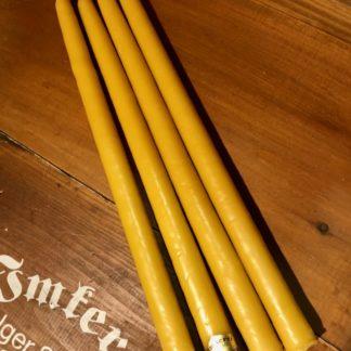 Handgezogene Leuchterkerzen Länge 25cm, Durchmesser 2,3cm