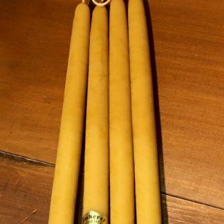 Handgezogene Leuchterkerzen Länge 35cm, Durchmesser 2,6cm