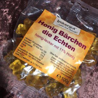 Honig-Gummibärchen-Packung