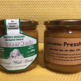 Grob-Kristall-Wald-Honig