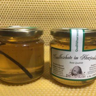 Vanilleschote im Akazienhonig 250g