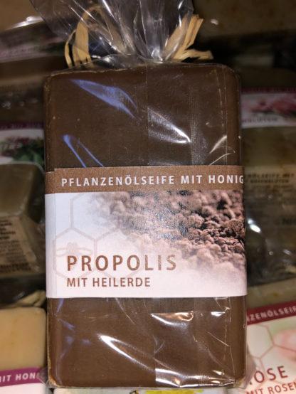 Honigseife mit Propolis und Heilerde