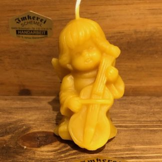 Kerze Engel mit Cello