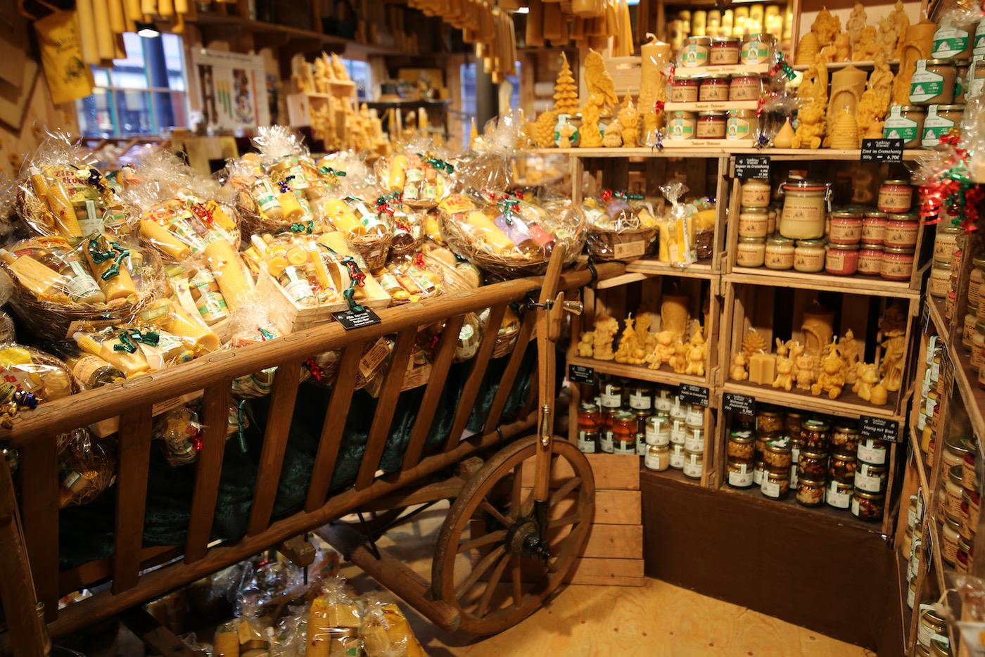 Auswahl Weihnachtsmarkt