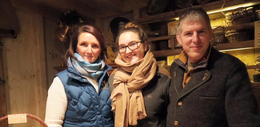 Michaela, Kathleen und Holger Schemel